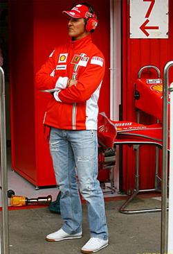 Michael Schumacher, Barcelona