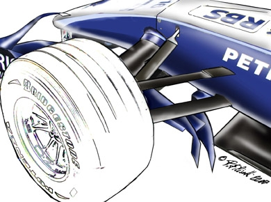 Williams F1 tech