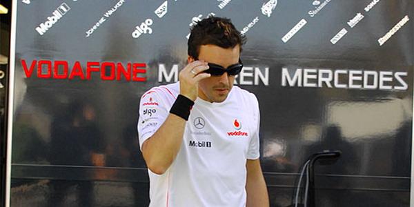 Фернандо Алонсо, McLaren Mercedes, Гран-при Формула-1 Австралия